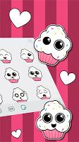 Cute Cupcakes Emoji Stickers