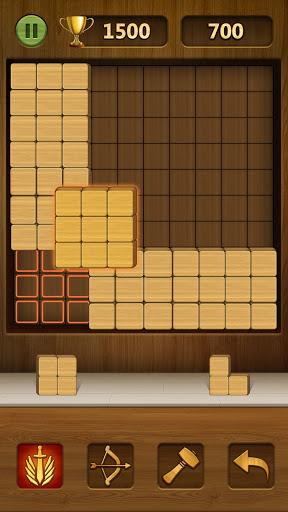 Wood Block Puzzle 2021 - Wooden 3D Cube Puzzle Gem goodtube screenshots 5
