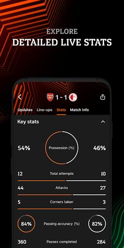 UEFA Europa Official: live football scores & news android2mod screenshots 5