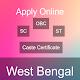 West Bengal Caste Certificate SC, ST, OBC APK