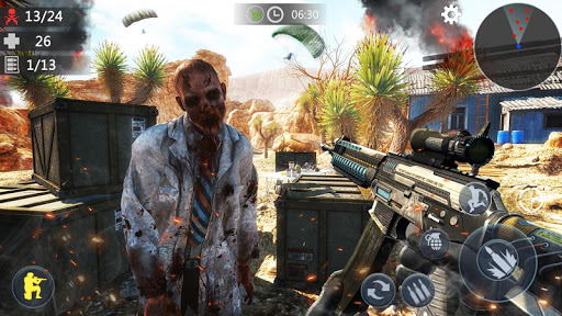 Zombie Trigger: Survival Shooting Games-Sniper FPS 1.2.5 screenshots 1