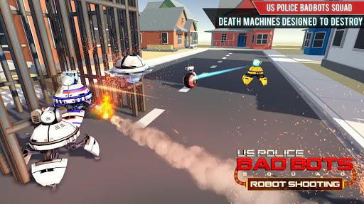 US Police Robot Shooting Crime City Game 2.9 screenshots 4