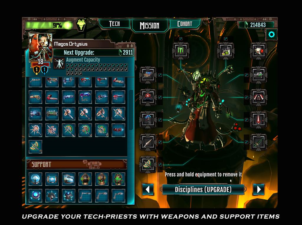 Warhammer 40,000: Mechanicus poster 12