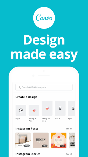 Canva: Graphic Design, Video Collage, Logo Maker android2mod screenshots 1