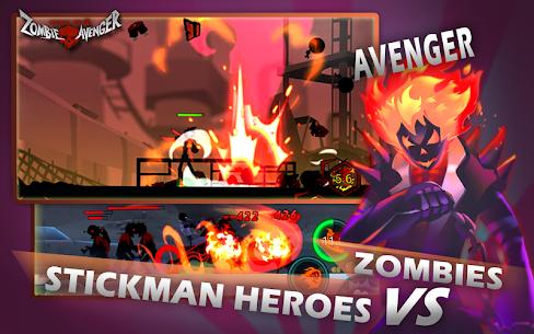 Zombie Avengers Stickman War Z v2.4.9 MOD APK 5