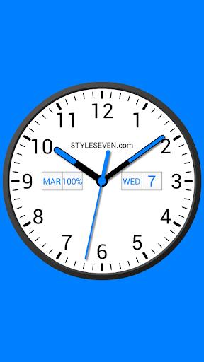 analog clock widget plus-7 screenshot 1