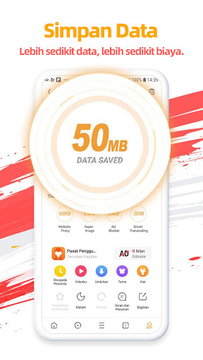 UC Browser- Video downloader, Aplikasi news bola