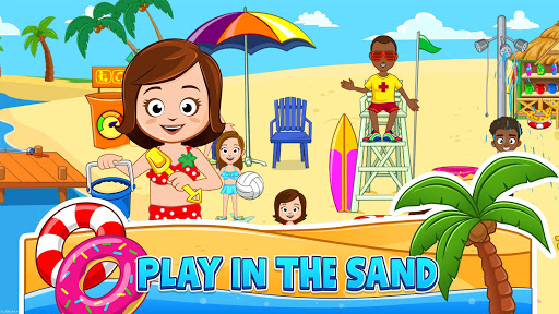 My Town : Beach Picnic apktram screenshots 15