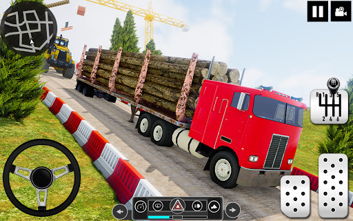 Log Transporter Truck Driving : Truck Games 2021 screenshots 11