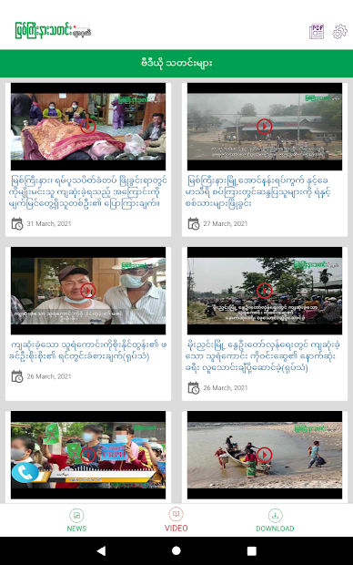 Myitkyina News Journal screenshot 9