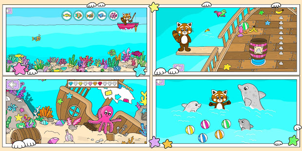 Pukkins Summer - Fun learning game for kids