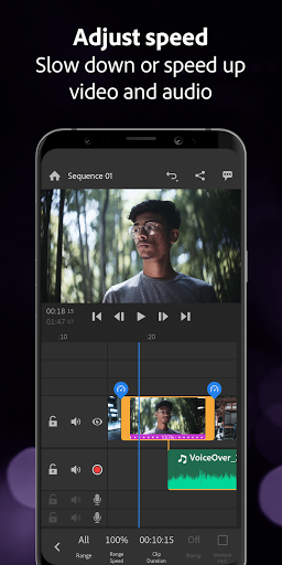 Adobe Premiere Rush u2014 Video Editor 1.5.56.1264 screenshots 2