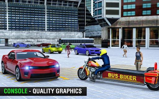 Bus Bike Taxi Driver u2013 Transport Driving Simulator  screenshots 7