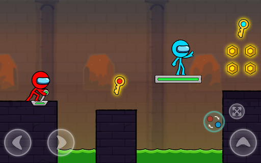 Red and Blue Stickman : Season 2 android2mod screenshots 20