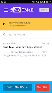 Temp Mail – 10 Minute Email Pro Free 2