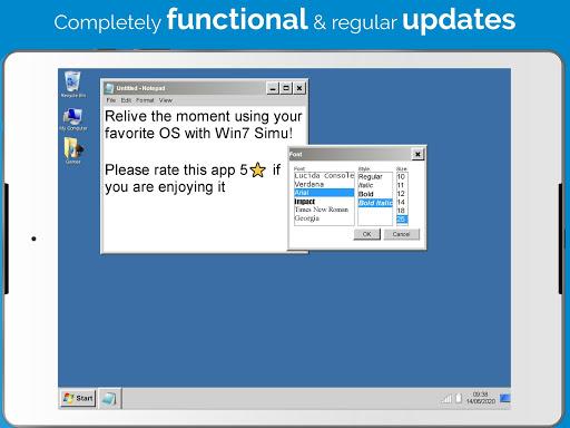 Win7 Simu screenshots 8