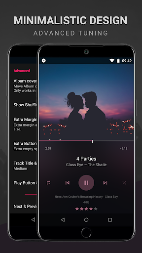 BlackPlayer EX Music Player screen 0