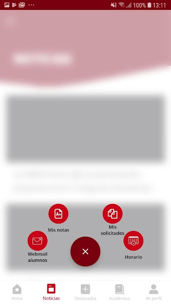 Screenshot 5 de URJC App Univ. Rey Juan Carlos para android