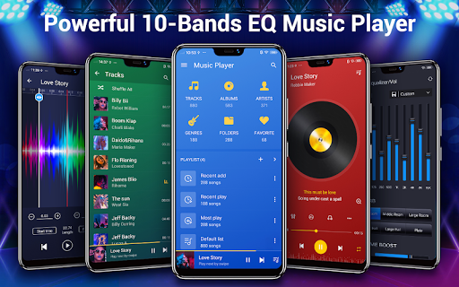 Music Player - 10 Bands Equalizer Audio Player 1.6.3 Screenshots 1
