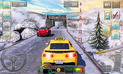 Taxi Driver 3D : Hill Station  screenshots 1