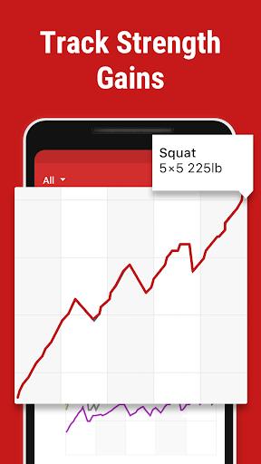 stronglifts 5x5 - weight lifting & gym workout log screenshot 3