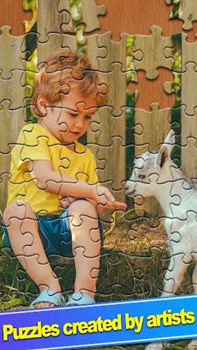 ColorPlanetu00ae Jigsaw Puzzle HD Classic Games Free  screenshots 3