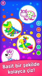 Çocuk boyama oyunları! Okul öncesi eğitici oyunlar Apk İndir 1
