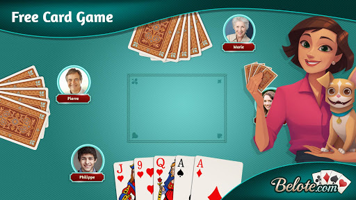 Belote.com - Free Belote Game 2.1.5 screenshots 3