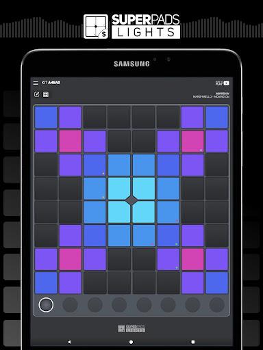 SUPER PADS LIGHTS - Your DJ app  Screenshots 11