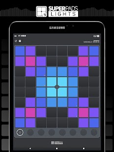 SUPER PADS LIGHTS - Your DJ app Screenshot