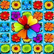 Flower Blossom Jam - A Match 3 Puzzle Game