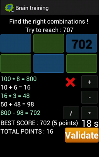 Brain training 9.8 screenshots 12