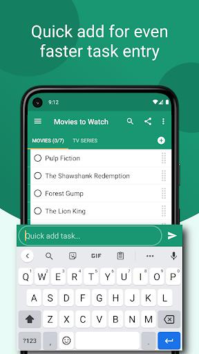 Tasks: to do list with sync, reminders & calendar apktram screenshots 5