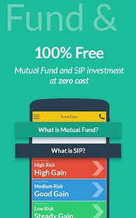 Mutual Fund, SIP- Fund Easy [Indians & NRIs] Capture d'écran