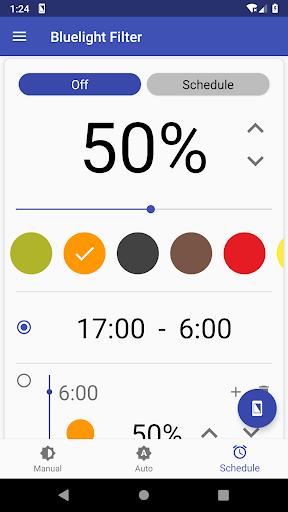 Bluelight Filter for Eye Care - Auto screen filter 3.7.1 Screenshots 3