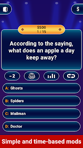 Millionaire 2021 –  Free Trivia Quiz Offline Game 10