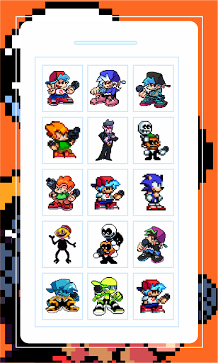 Boyfriend Friday Night Funkin Game Pixel  screenshots 1