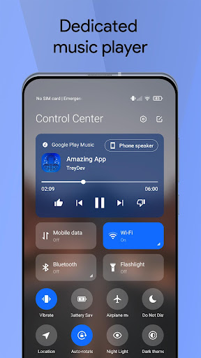 Mi Control Center: Notifications and Quick Actions android2mod screenshots 3