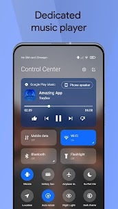 Mi Control Center Pro Mod Apk Notifications and Quick Actions 3