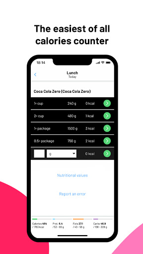 Fitatu Calorie Counter - Free Weight Loss Tracker 2.69.1 Screenshots 2