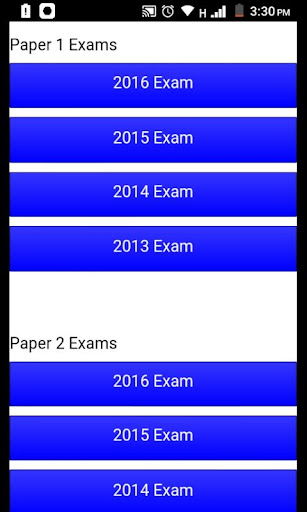Grade 12 Life Sciences Mobile Application 1.0 Screenshots 2