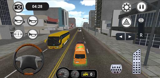 Minibus Bus Transport Driver Simulator apkpoly screenshots 4