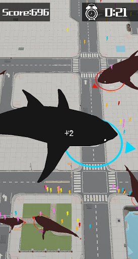 Shark Rampage: Shark War - Animal Warfare.io  screenshots 7