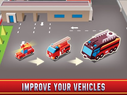 Idle Firefighter Empire Tycoon MOD APK 0.9.3 (Unlimited Money) 14