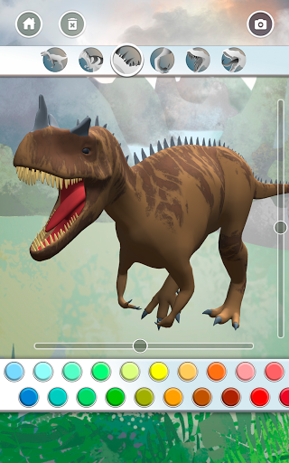 Dinosaurs 3D Coloring Book modavailable screenshots 21
