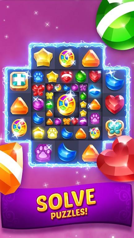 Genies & Gems - Match 3 Game poster 3