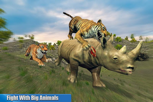 Tiger Family Simulator: Angry Tiger Games apkdebit screenshots 6
