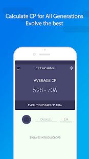Evolution CP & IV Calculator, Raids and more.