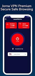 JornaVPN Premium VPN -100% Secure Safe Browsing For Android 1