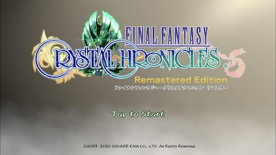 FinalFantasy CrystalChronicles Apk Mod v1.0.1 +OBB/Data for Android. 1